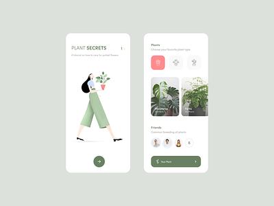 Plants iphonex affinitydesigner ilustration app plants