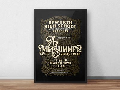 A Midsummer Night's Dream - Poster Mockup