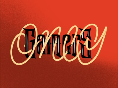 Gamers Only design texture apple pencil ipad pro art procreate calligraphy illustration hand lettering type design lettering typography