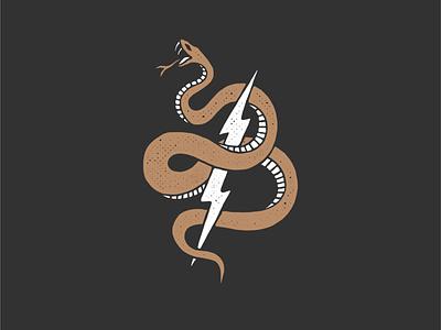 Snake Bolt ipad pro adobe illustrator bolt snake adobe fresco adobe texture design illustration