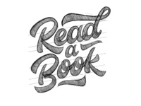 Read A Book Sketch