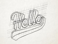 Hello Sketch