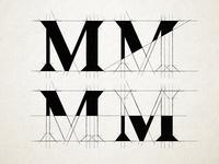 Medium M Logo Exploration
