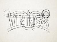 Vikings WIP Sketch