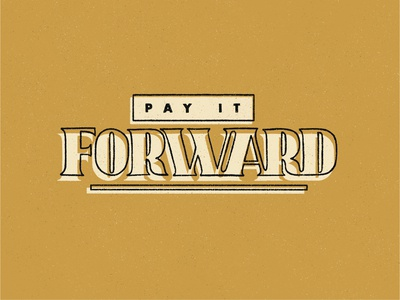 Pay It Forward - Reshare