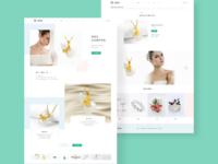 珠宝店网页设计