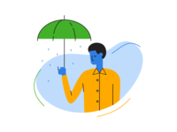Illustration Exploration - Rain