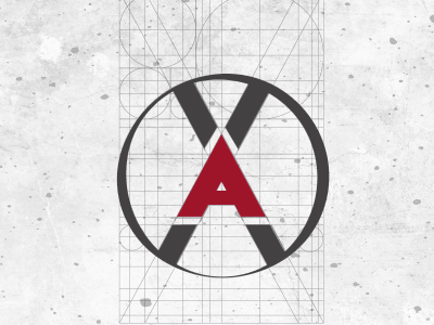 X Ambassadors - Logo Concept branding graphic design golden ratio