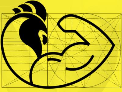 Logo - Frango Malhado graphic design golden ratio