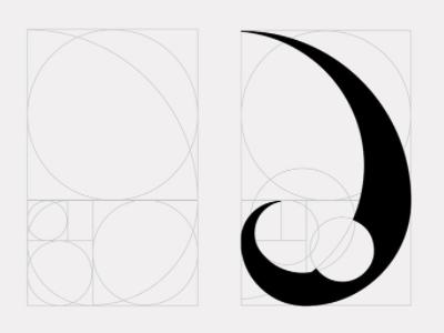 Hellen Teixeira - Personal Logo graphic design golden ratio