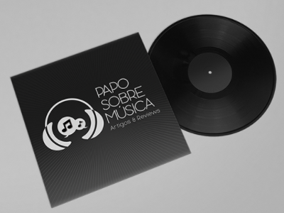 Papo sobre Música logo rebranding graphic design golden ratio