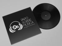 Papo sobre Música logo rebranding