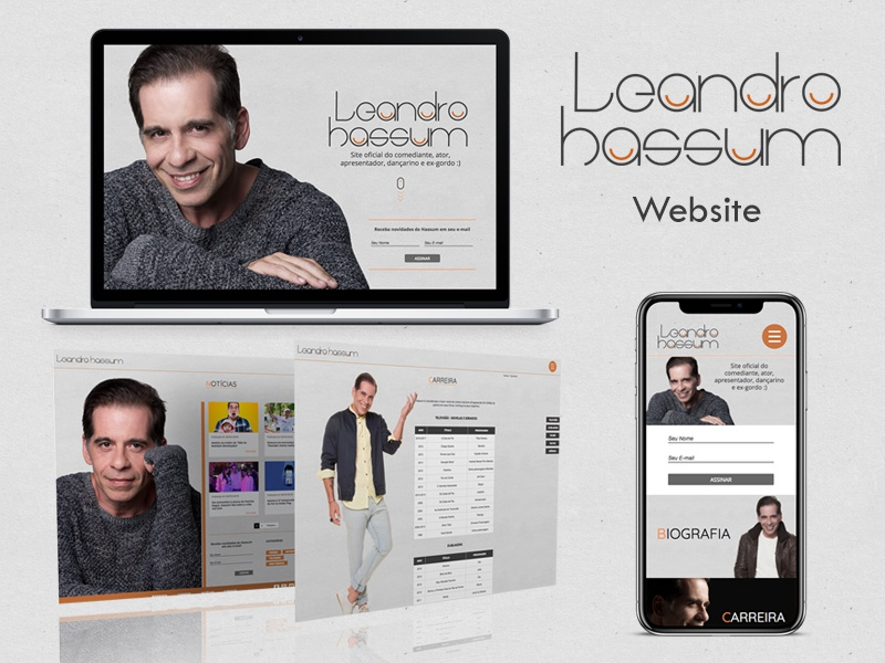 Leandro Hassum | Website branding graphic design golden ratio