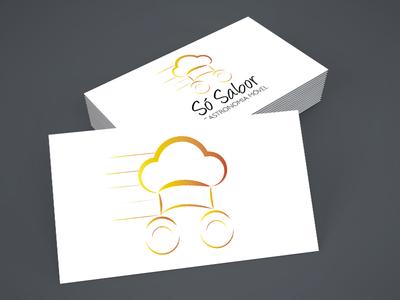 Só Sabor | Logo design marca branding graphic design golden ratio