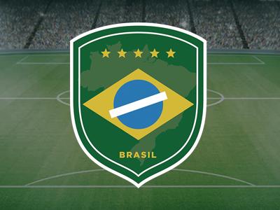 Brazil soccer team's logo (rebranding) marca creative design branding logo