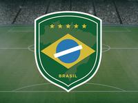 Brazil soccer team's logo (rebranding)