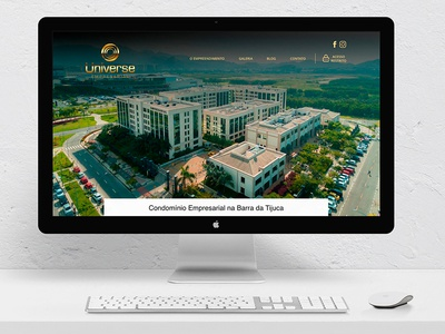 Universe Empresarial | Website webdesigner webdesign website ux adobexd web design creative ui design