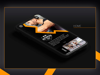 Health & Fitness Prototype (UI) adobe xd web design ux design ui