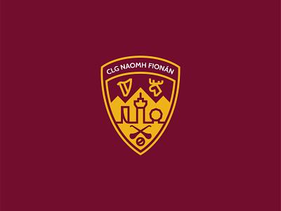 St. Finnians GAA Vancouver Crest logo design team sports badge vancouver gaa logo crest irish gaelic