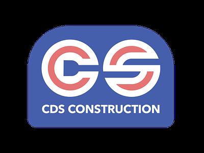 CDS Construction (BWR) logo design logo