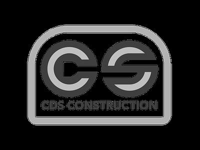 CDS Construction (grey) logo design logo