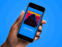 Shazam track result