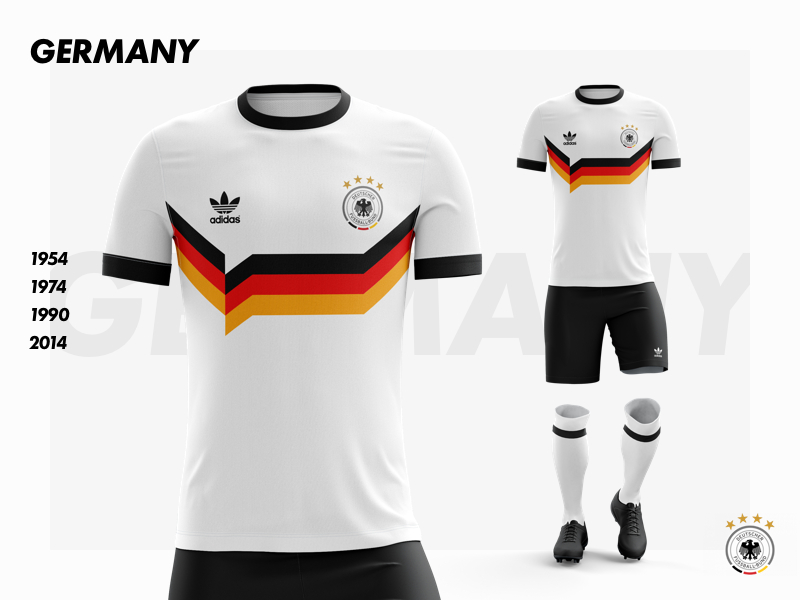 info for 40bc5 6889d Germany - World Cup 2018 kit by Jeff King on Dribbble