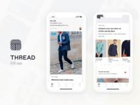 Thread iOS app