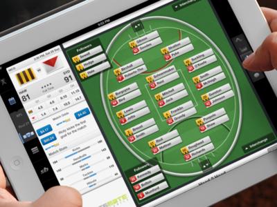 Aussie Rules iPad app