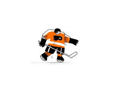 A Philadelphia Flyer hockey flyers philadelphia