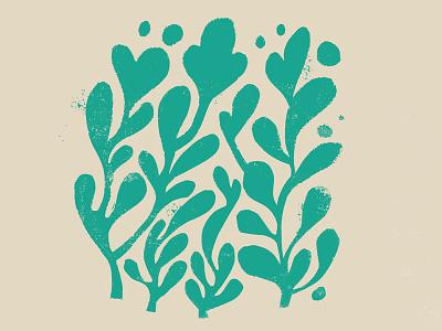 Plants daily doodle plants illustration