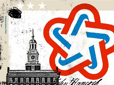 Independence Hall bicentennial independence declaration