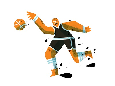 Basket Ball sports ball sports illustrated sports sketchbook daily doodle