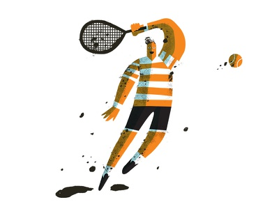 Tennis  sports ball sports illustrated sports sketchbook daily doodle
