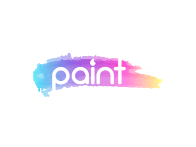"""Paint"" Day 9 of Thirty Logos Challenge"