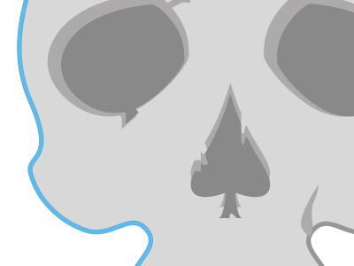 Vector Skull skull vector illustration