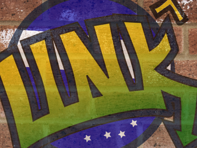 Wall art inkscape vector logo graffiti