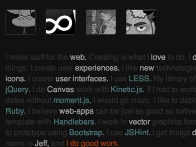 Website Redesign website html css jquery