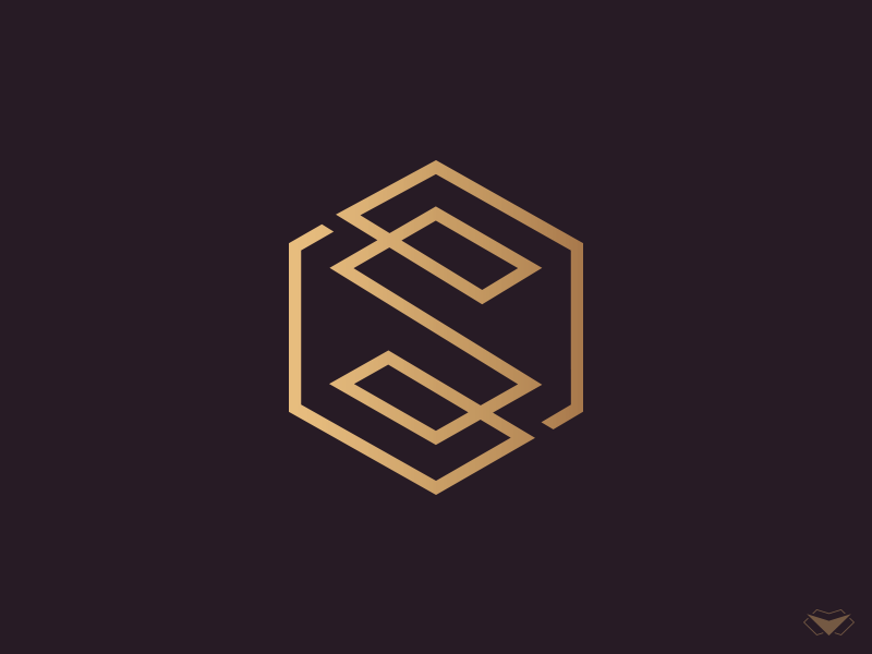 Letter S Logo Symbol By Visual Curve On Dribbble