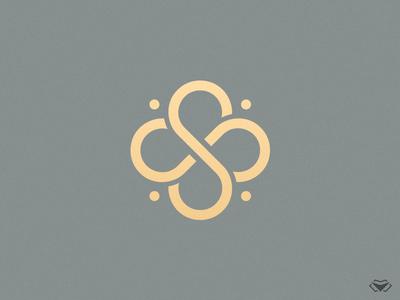 Double S Clover Logo