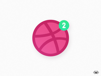2 Dribbble Invites for Awesome Designers