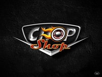 First Version of the ChopShop Game Logo