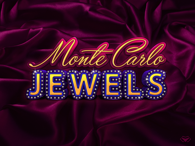 Monte Carlo Jewels Game Logo & UI/ UX