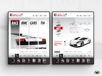Racing Social Game - Concept V1 - No 01