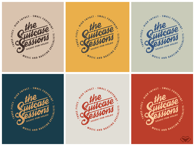 The Suitcase Sessions Logo