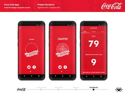 Coca Cola App Design - UI/ UX design red cocacola coca cola app ui designs appdesign user interface uiux app designers app designer uidesigner uidesign ui design modern ux vector branding ui