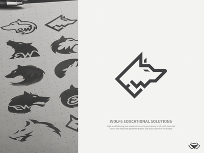 Ernest Wolfe - Wolfe Educational Solutions Logo