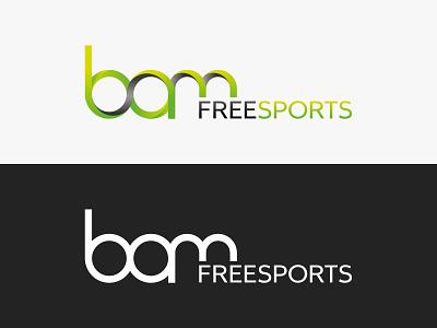 BAM Freesports - logo brand identity logo