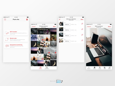 Mobile app for picture kiosk 1/2 product design mobile design ui ux mobile app