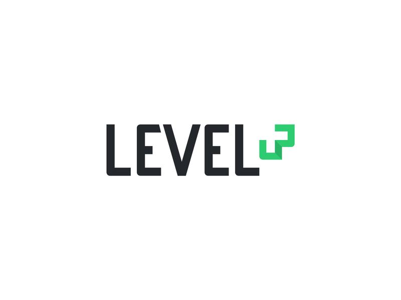 Level Up - E-commerce Web Agency brand identity logo
